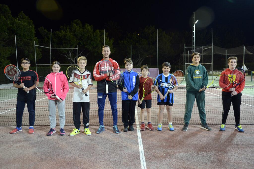 Clasificacion escuela de tenis