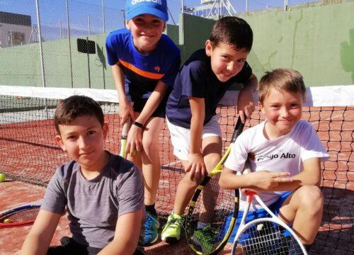 Divisiones para la vuelta de la liga de tenis
